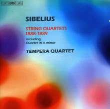 Jean Sibelius (1865-1957): Streichquartett a-moll, CD