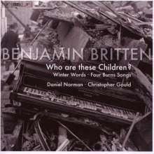 Benjamin Britten (1913-1976): Winter Words op.52, CD