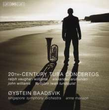 Oystein Baadsvik - 20th Century Tuba Concertos, CD
