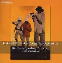 Heitor Villa-Lobos (1887-1959): Choros Vol.3, CD