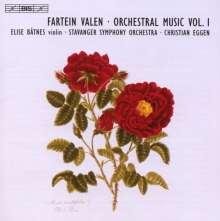 Fartein Valen (1887-1952): Symphonie Nr.1, CD