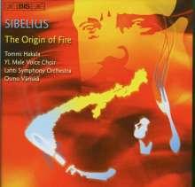 Jean Sibelius (1865-1957): Werke für Männerchor, CD
