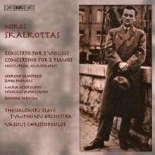 Nikos Skalkottas (1904-1949): Konzert für 2 Violinen & Orchester, CD