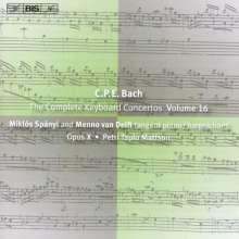 Carl Philipp Emanuel Bach (1714-1788): Sämtliche Cembalokonzerte Vol.16, CD