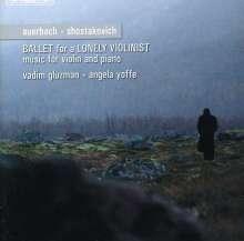 Dimitri Schostakowitsch (1906-1975): Sonate für Violine & Klavier op.134, CD
