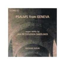 "Jan Pieterszoon Sweelinck (1562-1621): Orgelwerke ""Psalms from Geneva"", CD"