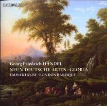Georg Friedrich Händel (1685-1759): Neun Deutsche Arien, CD