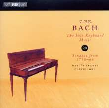 Carl Philipp Emanuel Bach (1714-1788): Cembalosonaten Wq.65 Nr.34,40,41,45, CD