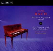 Carl Philipp Emanuel Bach (1714-1788): Cembalosonaten Wq.50 Nr.1-6, CD