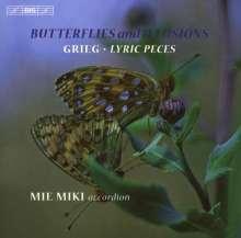 Edvard Grieg (1843-1907): 24 Lyrische Stücke für Akkordeon, CD