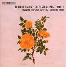 Fartein Valen (1887-1952): Symphonien Nr.2 & 3, CD