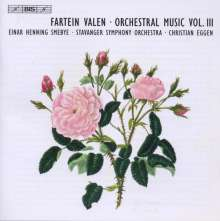 Fartein Valen (1887-1952): Symphonie Nr.4, CD