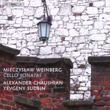 Mieczyslaw Weinberg (1919-1996): Sonaten für Cello & Klavier Nr.1 & 2, CD