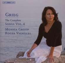 Edvard Grieg (1843-1907): Sämtliche Lieder Vol.6, CD