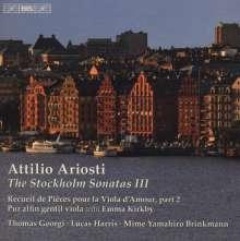 Attilio Ariosti (1666-1729): Stockholm-Sonaten Vol.3, CD