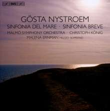 Gösta Nystroem (1890-1966): Symphonien Nr.1 & 3 (Sinfonia Breve & Sinfonia Del Mare), CD