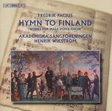 Fredrik Pacius (1809-1891): Werke für Männerchor, CD