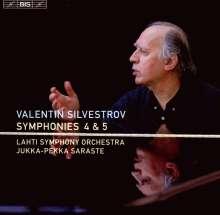 Valentin Silvestrov (geb. 1937): Symphonien Nr.4 & 5, CD