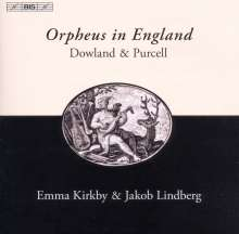 Orpheus in England, CD