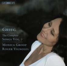 Edvard Grieg (1843-1907): Sämtliche Lieder Vol.7, CD