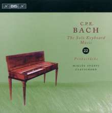 "Carl Philipp Emanuel Bach (1714-1788): Cembalosonaten Wq.63 Nr.1-6 ""Probestücke"", CD"