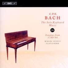 Carl Philipp Emanuel Bach (1714-1788): Cembalosonaten Wq.62 Nr.3-5,Wq 65 Nr.13, CD