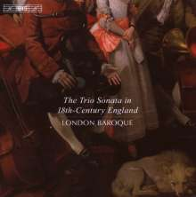 The Trio Sonata in 18th-Century England, CD