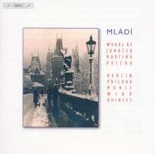 Philharmonisches Bläserquintett Berlin - Mladi, CD