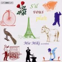 Mie Miki - S'il Vous Plait, CD