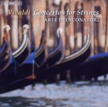 Antonio Vivaldi (1678-1741): Concerti für Streicher RV 114,108,129,130,143,152,157,158, CD