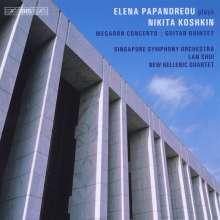 Nikita Koshkin (geb. 1956): Megaron Concerto für Gitarre & Streichorchester, CD