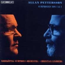 Allan Pettersson (1911-1980): Symphonien Nr.1 & 2, CD