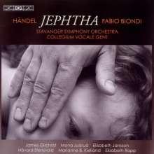 Georg Friedrich Händel (1685-1759): Jephta, 2 CDs