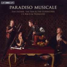 Paradiso Musicale - The Father,the Son & the Godfather, CD