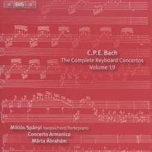 Carl Philipp Emanuel Bach (1714-1788): Sämtliche Cembalokonzerte Vol.19, CD