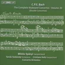 Carl Philipp Emanuel Bach (1714-1788): Sämtliche Cembalokonzerte Vol.20, CD