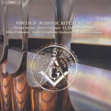 Jean Sibelius (1865-1957): Mauerische Ritualmusik op.113 für Tenor, Männerchor & Orgel, CD