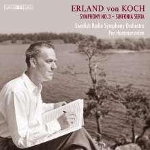 Erland von Koch (1910-2009): Symphonie Nr.3, CD