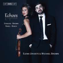 Elena Urioste & Michael Brown - Echoes, CD