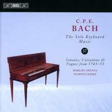 Carl Philipp Emanuel Bach (1714-1788): Cembalosonaten Wq.65 Nr.15 & 18;Wq.69, CD