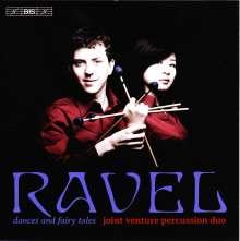 Maurice Ravel (1875-1937): Dances and Fairy Tales - Arrangements für Marimba und Vibraphon, CD