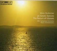 Nikos Skalkottas (1904-1949): 36 Griechische Tänze (Series I-III), 2 CDs
