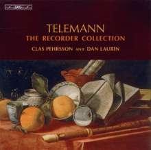 """Georg Philipp Telemann (1681-1767): Sämtliche Werke für Blockflöte """"The Recorder Collection"""", 6 CDs"""