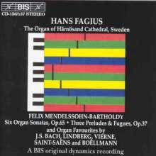 Hans Fagius,Orgel, 2 CDs