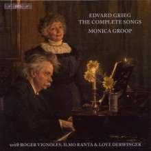 Edvard Grieg (1843-1907): Sämtliche Lieder, 7 CDs