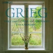 Edvard Grieg (1843-1907): Sämtliche Klavierwerke, 12 CDs