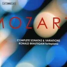 Wolfgang Amadeus Mozart (1756-1791): Klaviersonaten Nr.1-18, 10 CDs