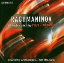 Sergej Rachmaninoff (1873-1943): Symphonien Nr.1-3, 3 CDs