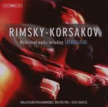 Nikolai Rimsky-Korssakoff (1844-1908): Orchesterwerke, 4 CDs