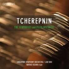 Alexander Tscherepnin (1899-1977): Symphonien & Klavierkonzerte, 4 CDs